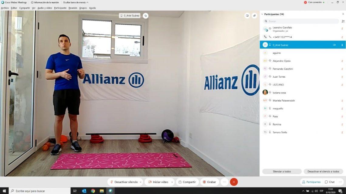 Entrenamiento Funcional - Allianz